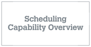 Scheduling Capability Overview v 8.0 (1)