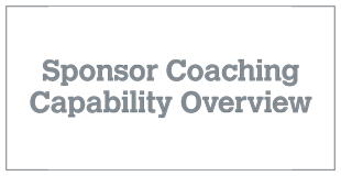 Sponsor Coaching Capability Overview V4.1