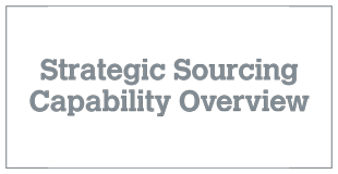 Strategic Sourcing Capability Overview v11.2